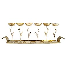 Liquor Set on a tray by Karl Hagenauer