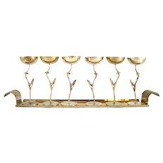 Liquor Set on a tray by Karl Hagenauer