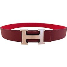 Hermes Rouge Casaque Lipstick Red Rouge H Constance Belt Kit 85cm 32mm Pretty