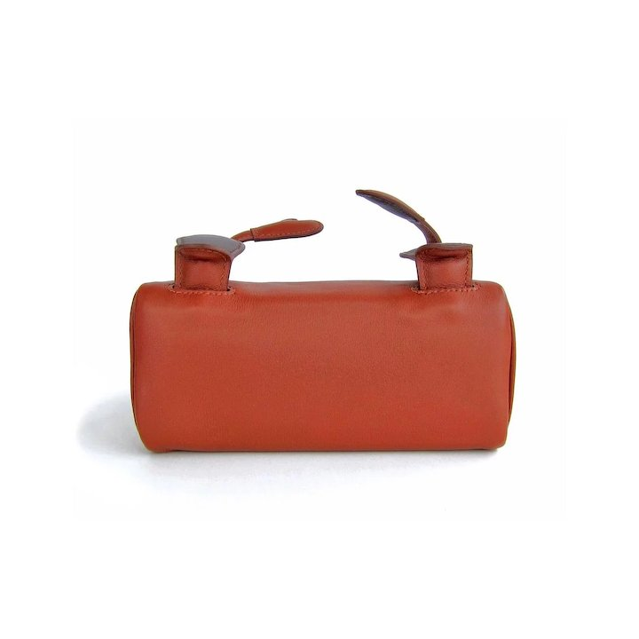 d7ec44a6cb6f Hermes Limited Edition Noisette Gulliver Leather Quelle Idole Kelly Doll Bag