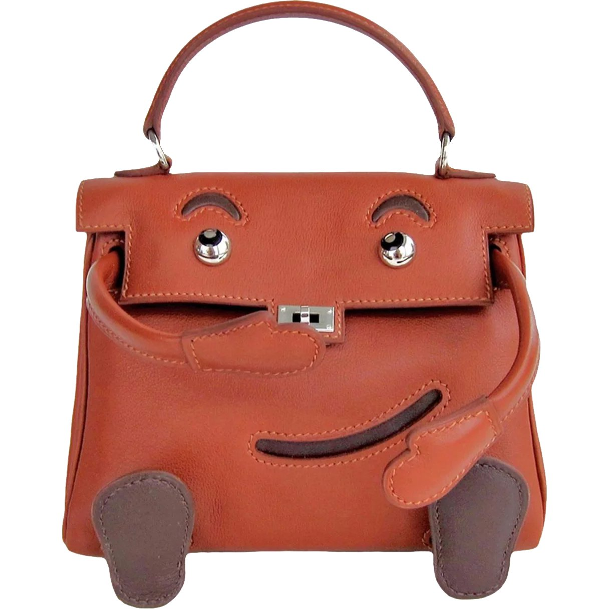 a334244052d1 Hermes Limited Edition Noisette Gulliver Leather Quelle Idole Kelly    Chicjoy