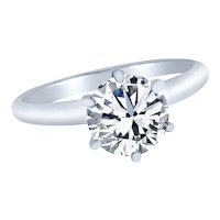 0.75 Cts. Brilliant Diamond Solitaire Ring