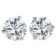 Brilliant Diamond Stud Earrings 9.26 Cts.