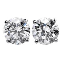 Beautiful Diamond Studs Earrings 1.25 Cts.