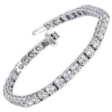 8.00 Carats Diamonds Tennis Bracelet