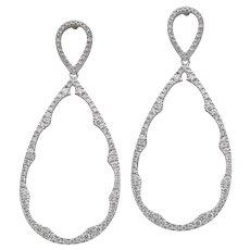 Diamond Drop Dangle Earrings