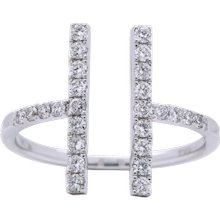 Diamond Bar Fashion Ring