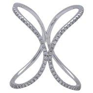 Fashion Diamond Gold Ring