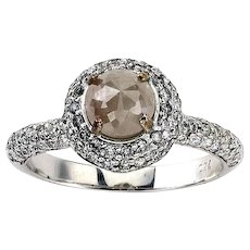 Rosè Rough Light Pink Diamond Ring