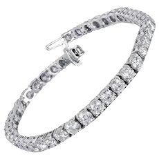 10.00 Carat Diamond Eternity Bracelet