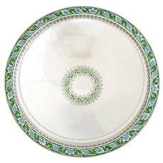 Tiffany & Co Art Deco Sterling Silver & Enamel Centerpiece Bowl 1920