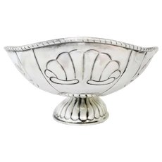 Large Tane Sterling Silver Centerpiece Bowl