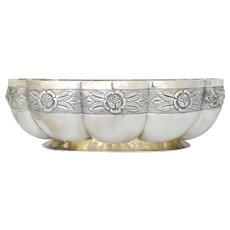 Sanborns Large Sterling Silver Centerpiece Bowl