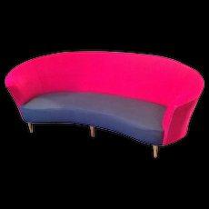 Ico Parisi curved sofa