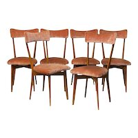 Ico Parisi Six Dining Chairs