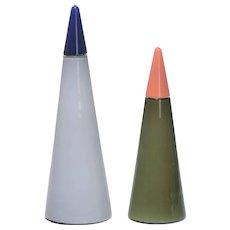 Gino Vistosi pair of bottles
