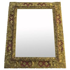 Late 18th Century Italian Baroque Mirror
