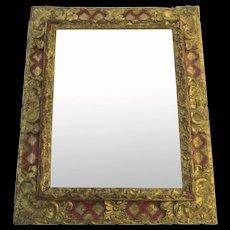 Late 18th Century Italian Baroque Mirror