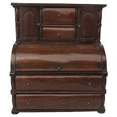 Miniature Roll Top Desk 1820