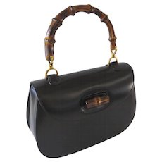 Vintage Classic Gucci Purse Handbag Bamboo Handle