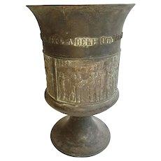 Hungarian Metal Urn