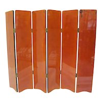 Lacquered Screen Divider