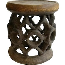 Cameroon Wood Stool