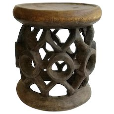 Cameroon Wood Stool