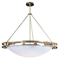 Fullerton Pendant in Satin Brass