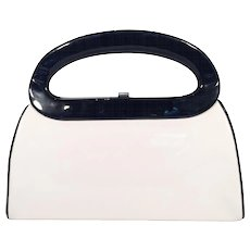 Mod Black and White Handbag
