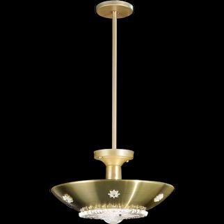 Starry Brass crystal Pendant