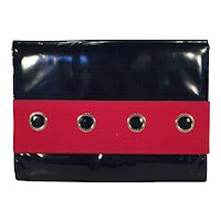 Vintage Black Patent Clutch