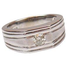 .40 Carat Diamond Gents Ring