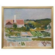 Impressionist painting by Harold Hansen signe 1936