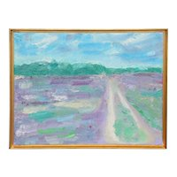 Small Impressionist Painting Signed Per Baagoe, Late 19th Century