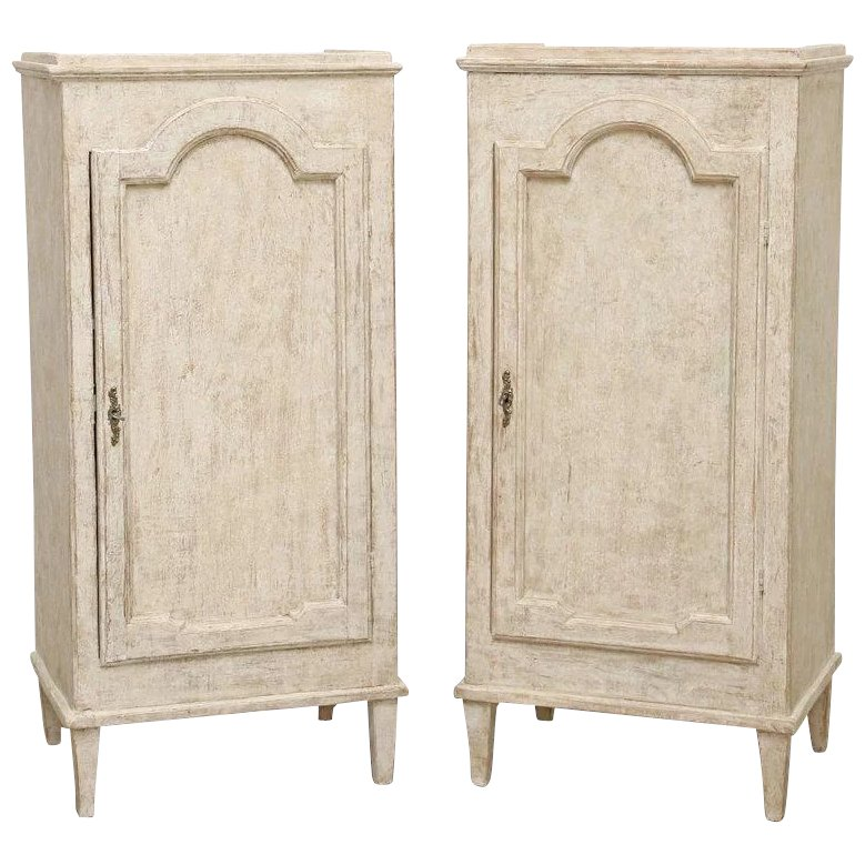 Antique Swedish Gustavian Painted