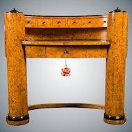 Biedermeier Oval Desk Designed by Josef Danhauser