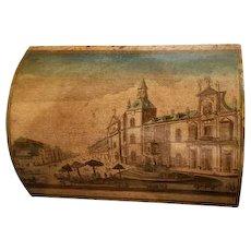 French 19th Century Box of Madrid Royal Prison