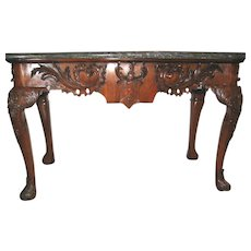 Scottish or Irish Console with Coat of Arms