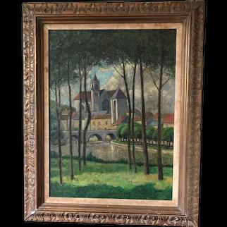 L'Eglise de Moret by Harry Lachman