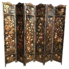 Chinese Export 6-Fold Screen