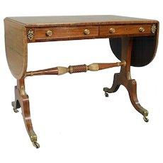 Regency Period Sofa Table
