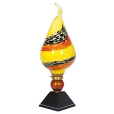 Italian Table lamp in Murano Glass, 1980s