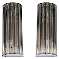 Pair of Italian Murano Glass Sconces, 1980s