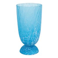 Italian Venetian Vase in Murano Glass light-blue, Cenedese 1970s