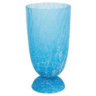 Italian Venetian Vase in Murano Glass light-blue, Cenedese 1970s