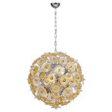 Italian Venetian Sputnik Chandelier in Murano Glass,  Mazzega 1970s
