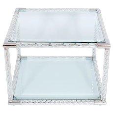 Italian Table in Murano Glass, 1980s