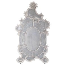 Italian Murano Mirror from 19th century, attributed to Pauly & Co