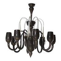 Cenedese Italian Murano Chandelier around 1990s